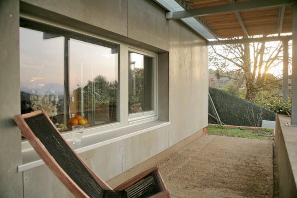 ventana madera doble cristal ahorro baja transmitancia