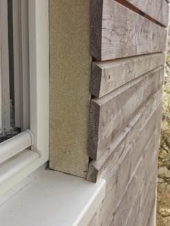 carpinteria y fachada ventilada de madera