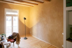 vivienda barcelona carpintería aislamiento fibra madera